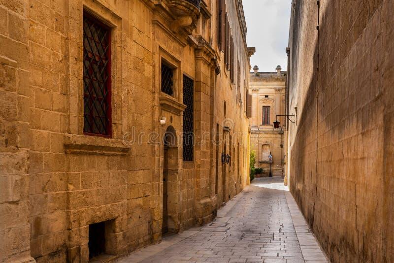 Stadt Mdina in Malta stockfotografie