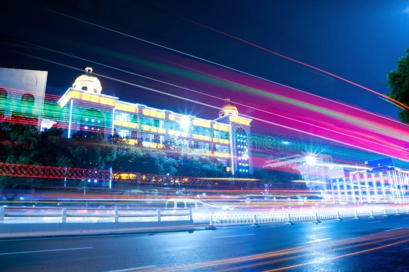 Stadt-Nacht stockbilder