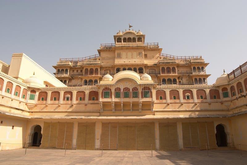 Stadt-Palast, Jaipur stockbild