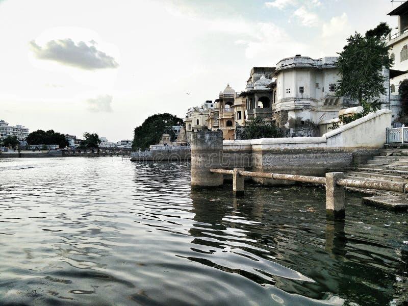 Stadt-Palast, Udaipur stockbild