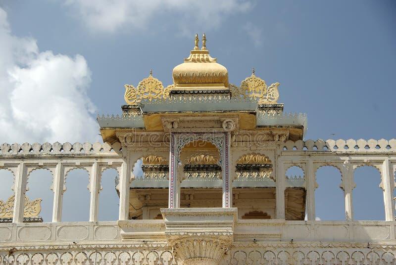 Stadt-Palast in Udaipur, Rajasthan lizenzfreie stockfotos