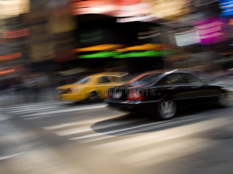 Stadt-Rennen lizenzfreie stockfotos
