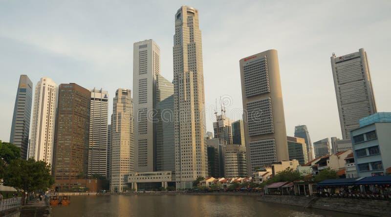 Stadt Scape - Singapur stockfotos