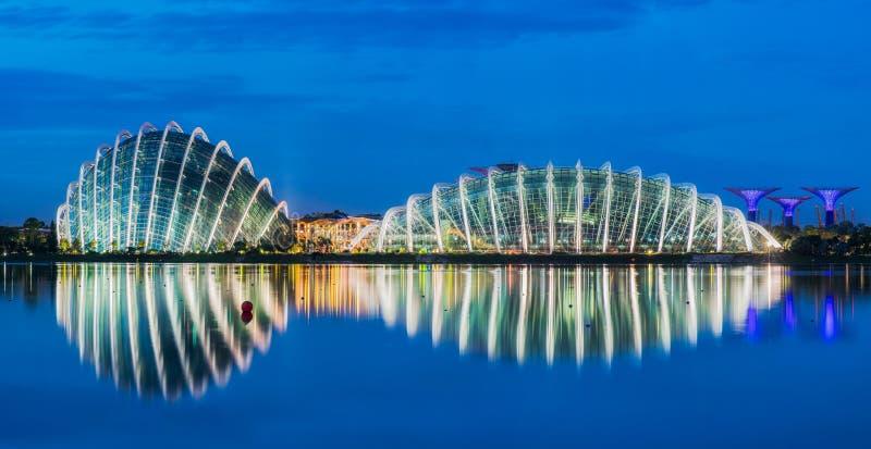 Stadt scape von Singapur-Stadt lizenzfreie stockfotos