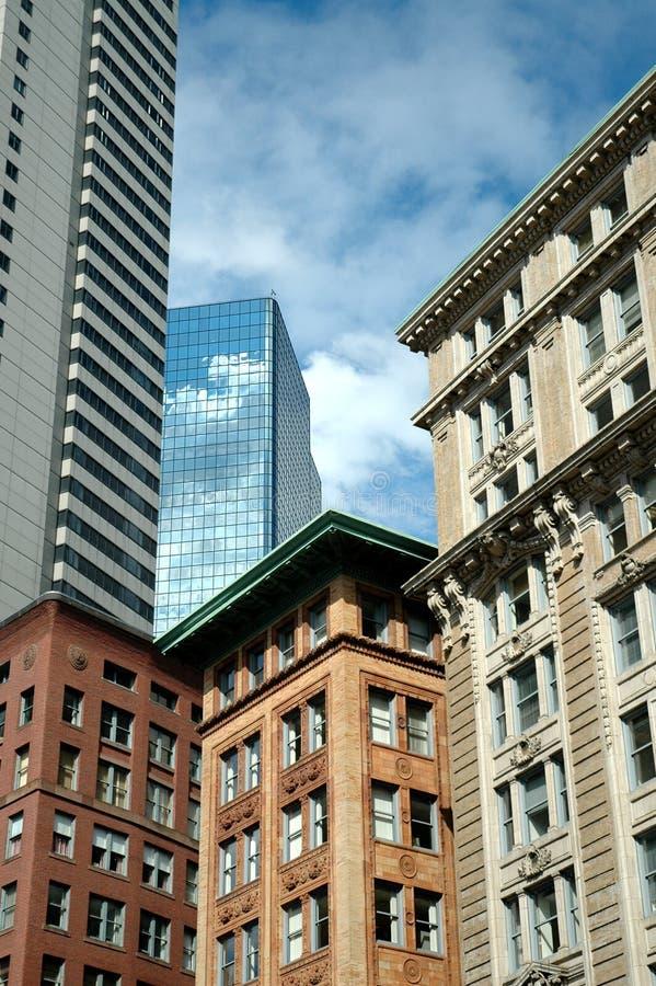 Stadt-Skyline lizenzfreies stockfoto