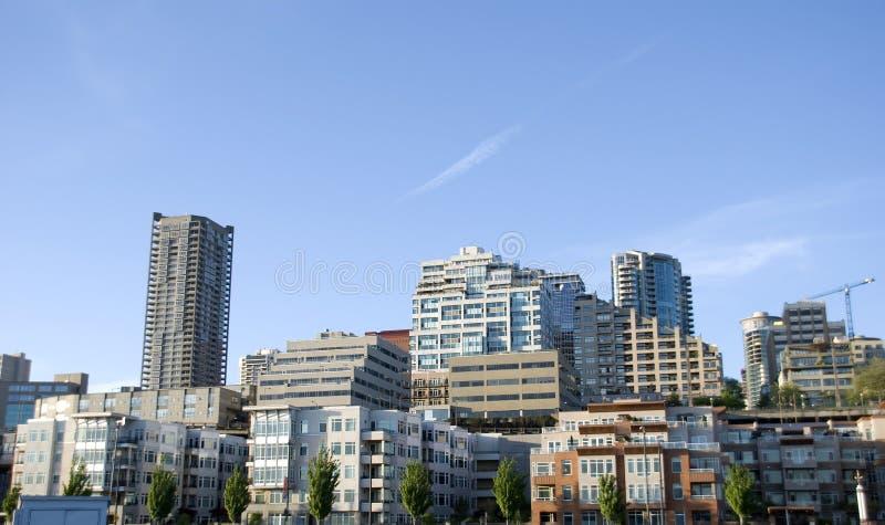 Stadt-Skyline lizenzfreie stockbilder