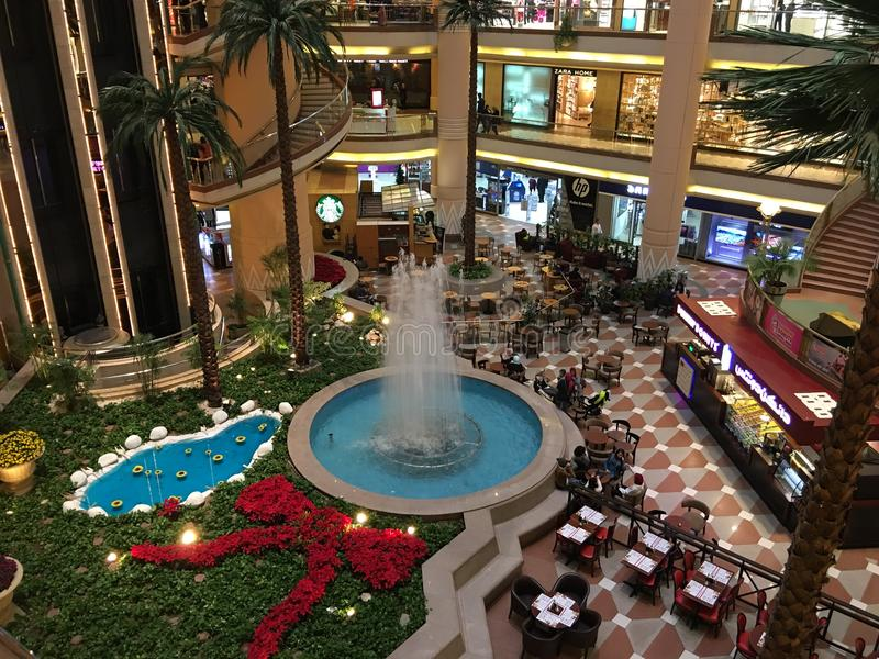 Stadt-Stern-Mall in Ägypten-Foto 2 stockbild