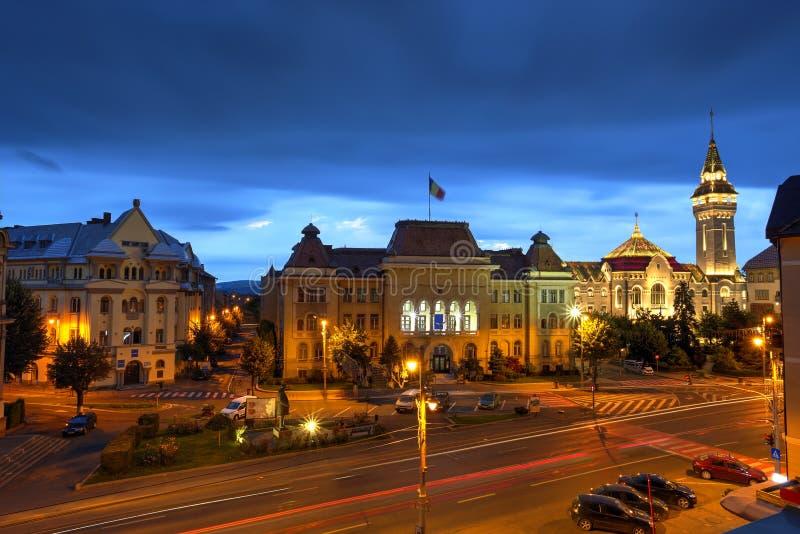 Stadt Targu Mures, Rumänien lizenzfreie stockfotografie