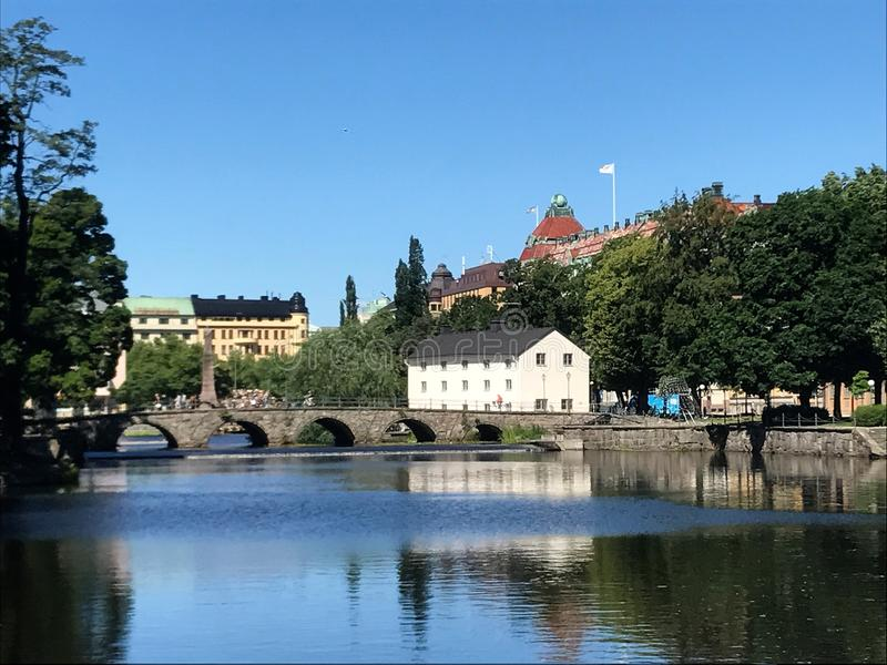 Stadt von Ã-rebro 12 lizenzfreie stockbilder