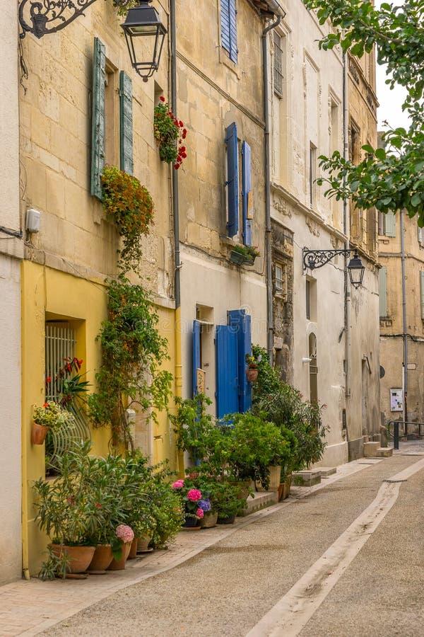 Stadt von Arles in Bouches DU Rhône lizenzfreies stockbild