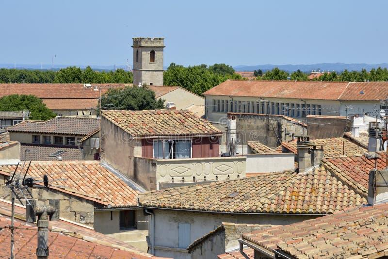 Stadt von Arles in Frankreich lizenzfreie stockfotos