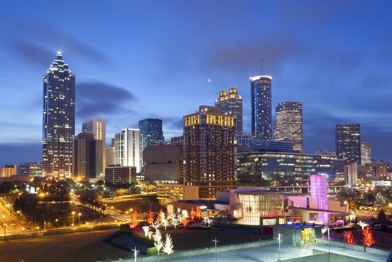 Stadt von Atlanta. lizenzfreie stockfotos