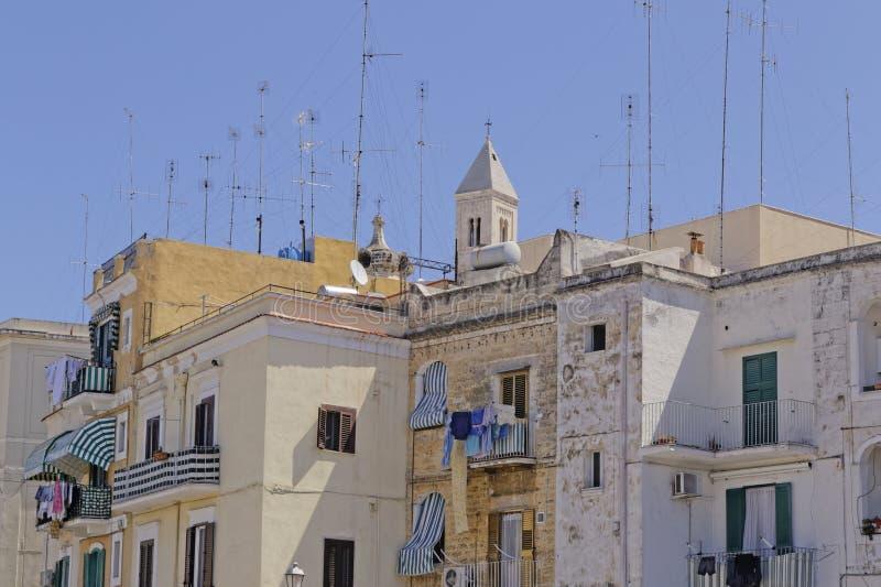 Stadt von Bari lizenzfreies stockfoto