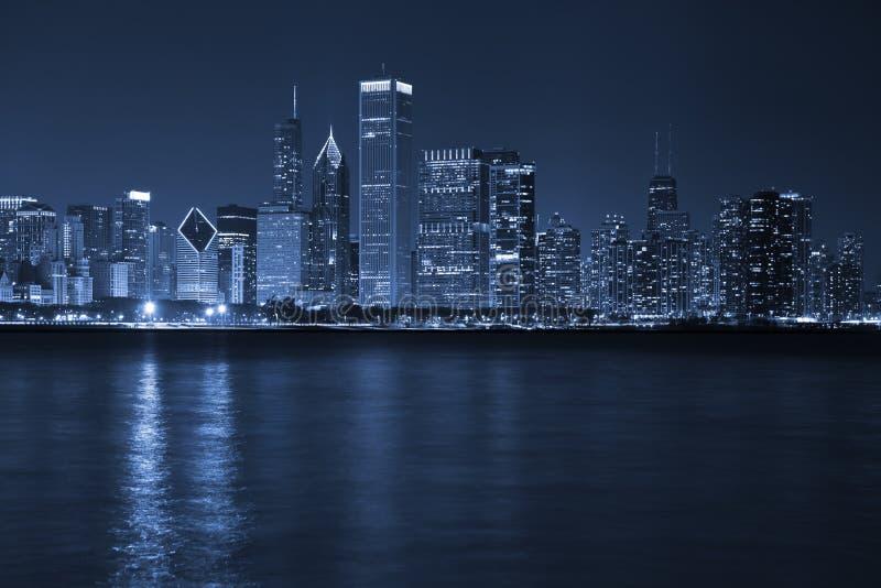 Stadt von Chicago. lizenzfreies stockbild