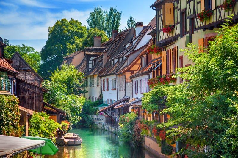 Stadt von Colmar lizenzfreie stockbilder