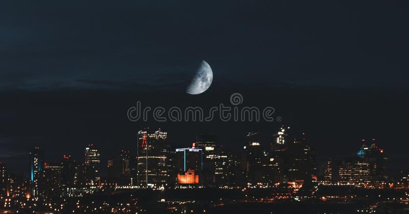 Stadt von Edmonton lizenzfreie stockfotografie