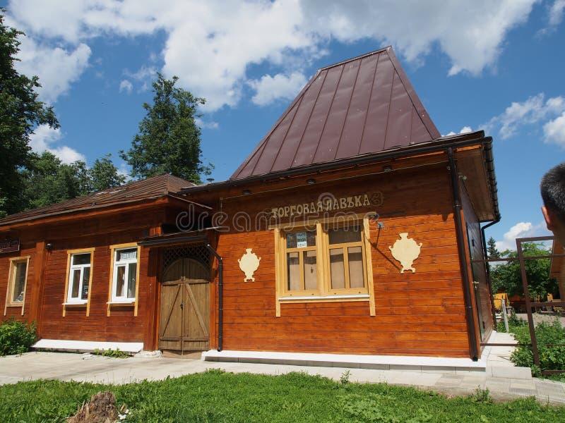 Stadt von goldenem Ring Suzda in Russland stockbilder