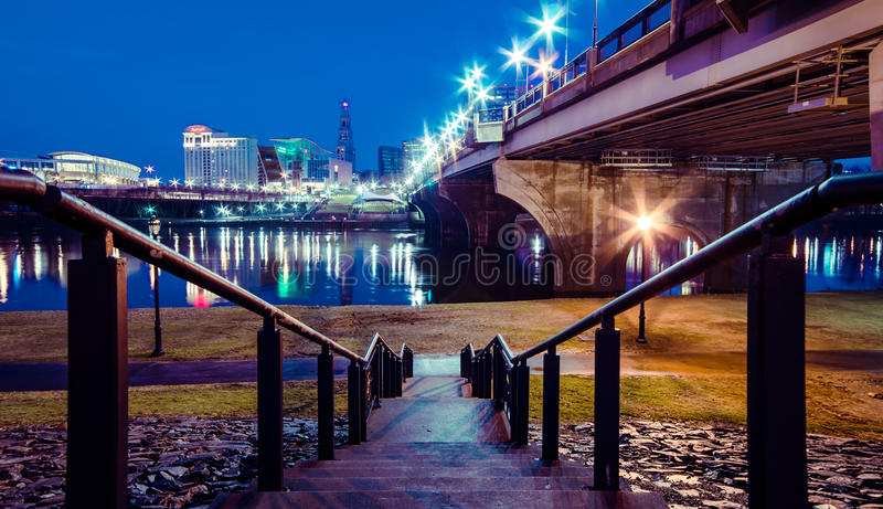 Stadt von Hartford Connecticut lizenzfreie stockbilder