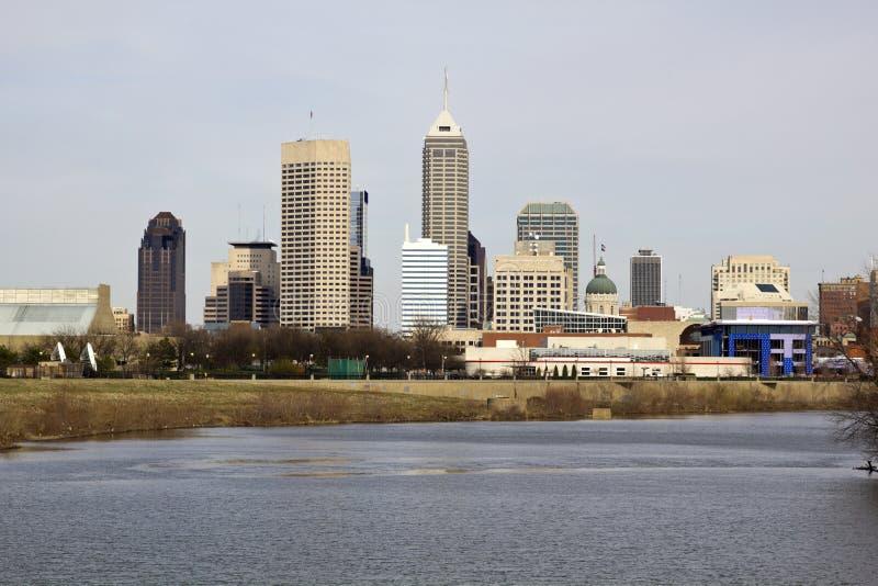 Stadt von Indianapolis lizenzfreies stockbild