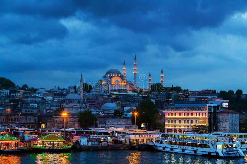 Stadt von Istanbul lizenzfreies stockbild