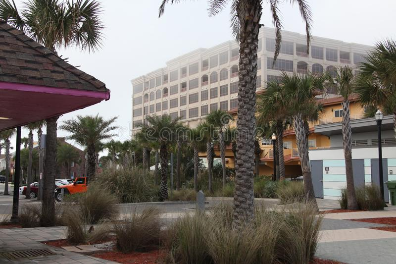 Stadt von Jacksonville-Strand in Florida stockfotografie