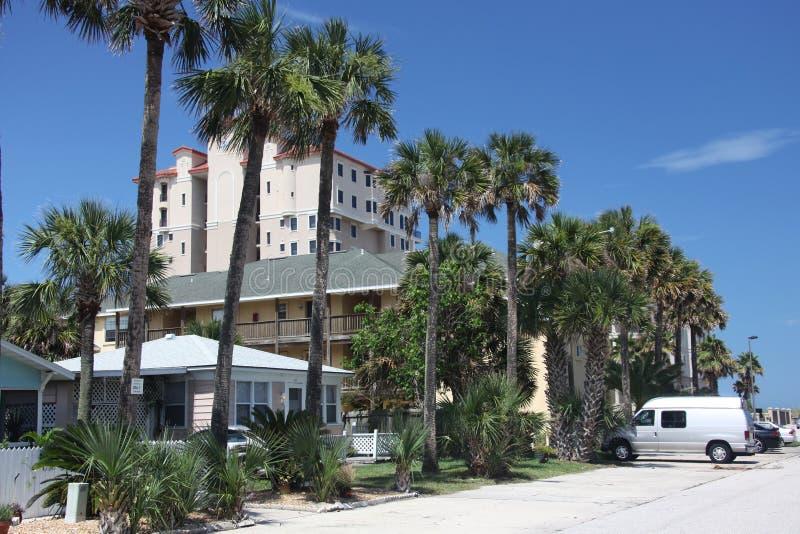 Stadt von Jacksonville-Strand in Florida lizenzfreie stockfotografie