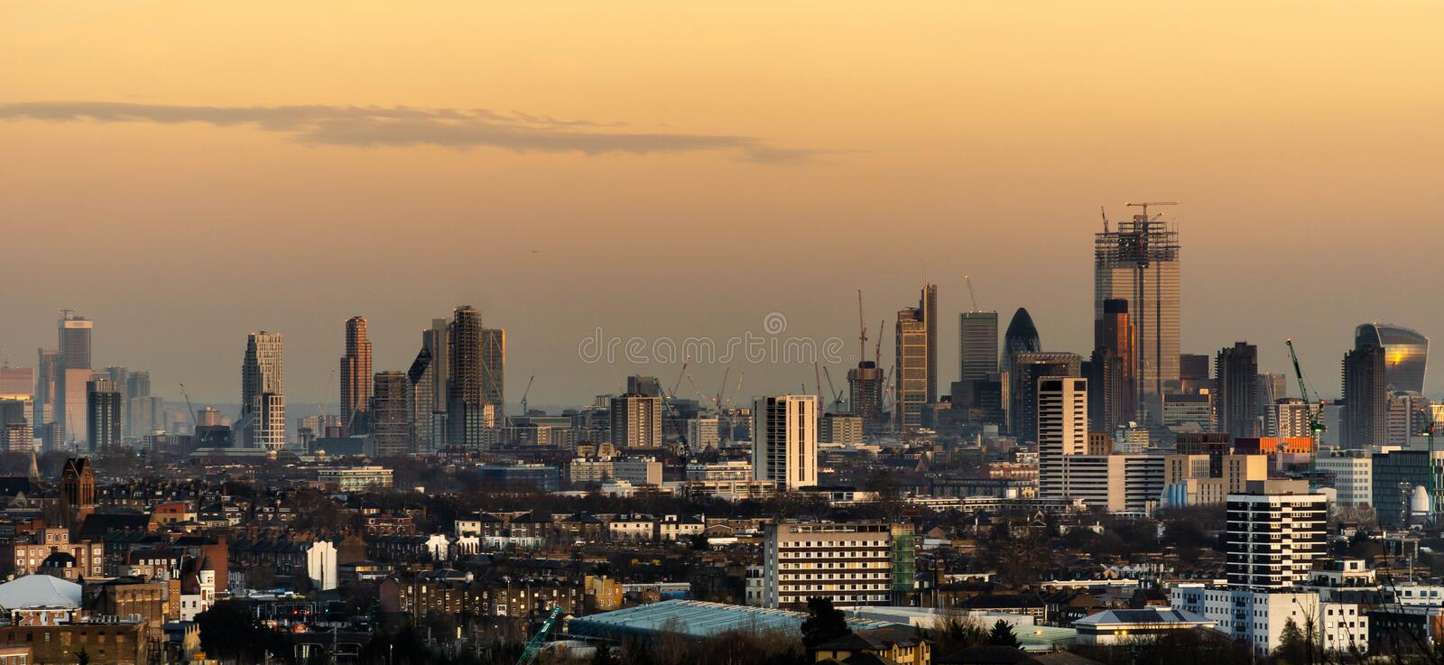 Stadt von London stockfotos