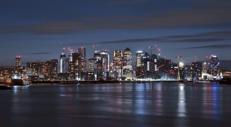 Stadt von London, die f?hrende Mitte der globalen Finanzierung stockbild