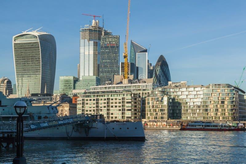 Stadt von London stockfoto