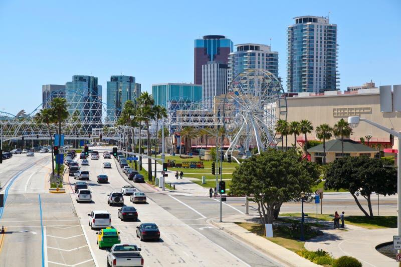 Stadt von Long Beach stockfoto