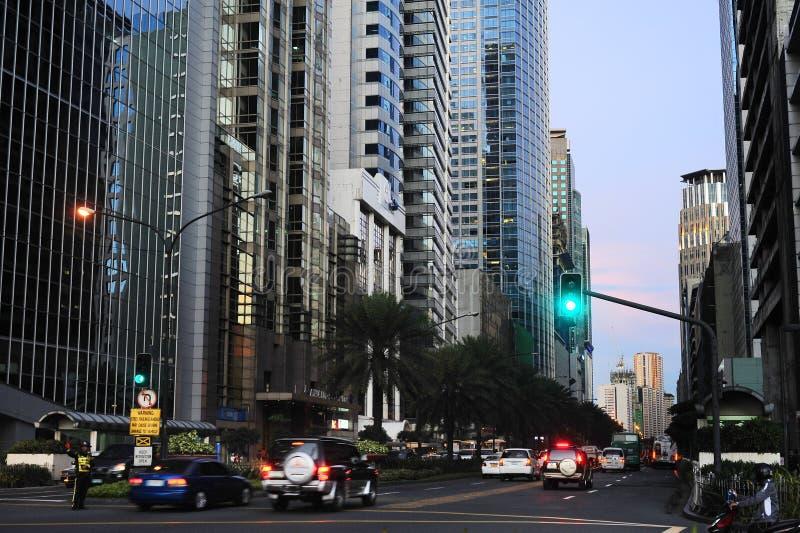 Stadt von Makati lizenzfreie stockbilder