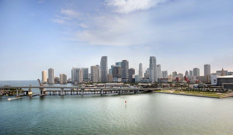 Stadt von Miami Beach stockbild