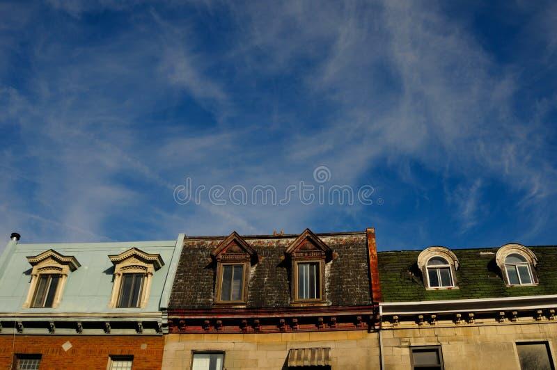 Stadt von Montreal lizenzfreie stockfotografie