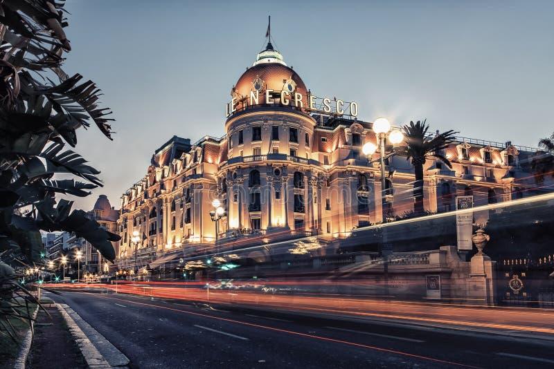 Stadt von Nizza, Frankreich lizenzfreie stockfotos