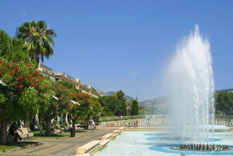 Stadt von Nizza, Frankreich stockfotos