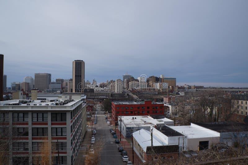 Stadt von Richmond lizenzfreie stockbilder