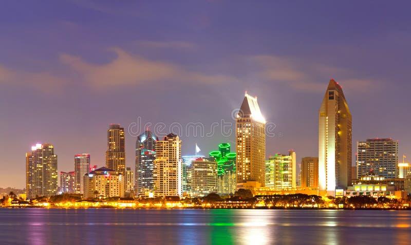 Stadt von San Diego Kalifornien lizenzfreies stockbild