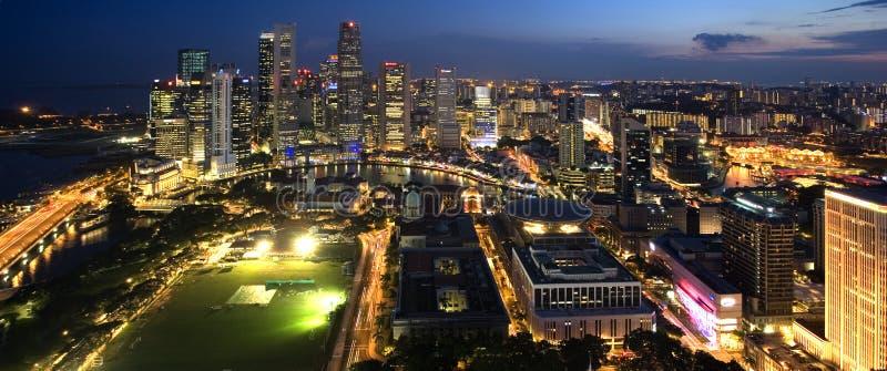 Stadt von Singapur lizenzfreie stockfotografie