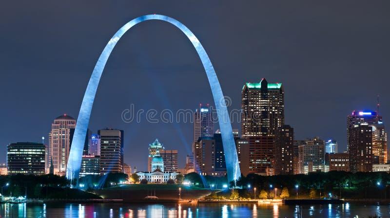 Stadt von St. Louis stockbild