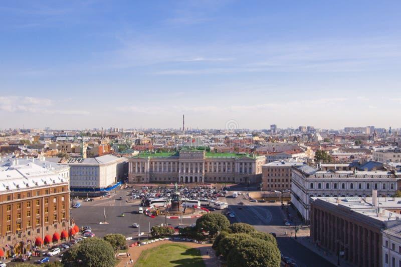 Stadt von St Petersburg stockfotos