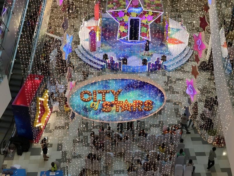 Stadt von Sternen lizenzfreie stockbilder