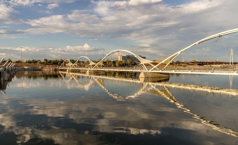 Stadt von Tempe in AZ lizenzfreie stockfotos