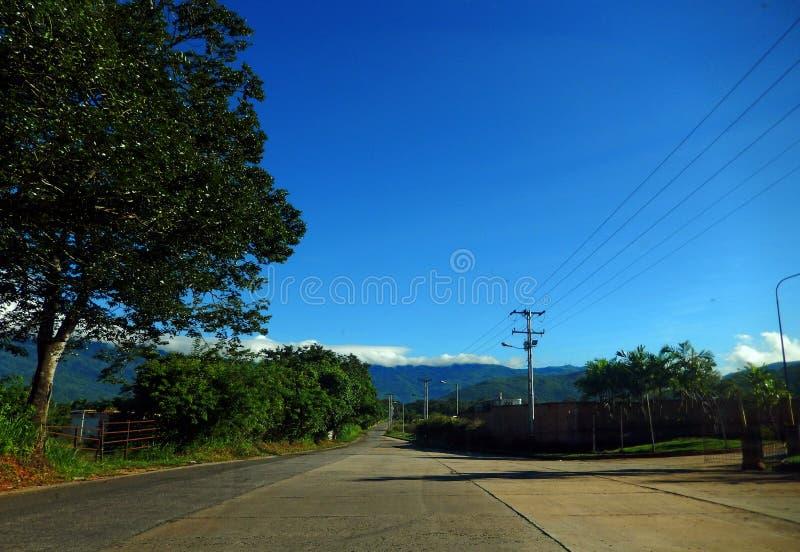 Stadt von Valencia Venezuela lizenzfreies stockbild