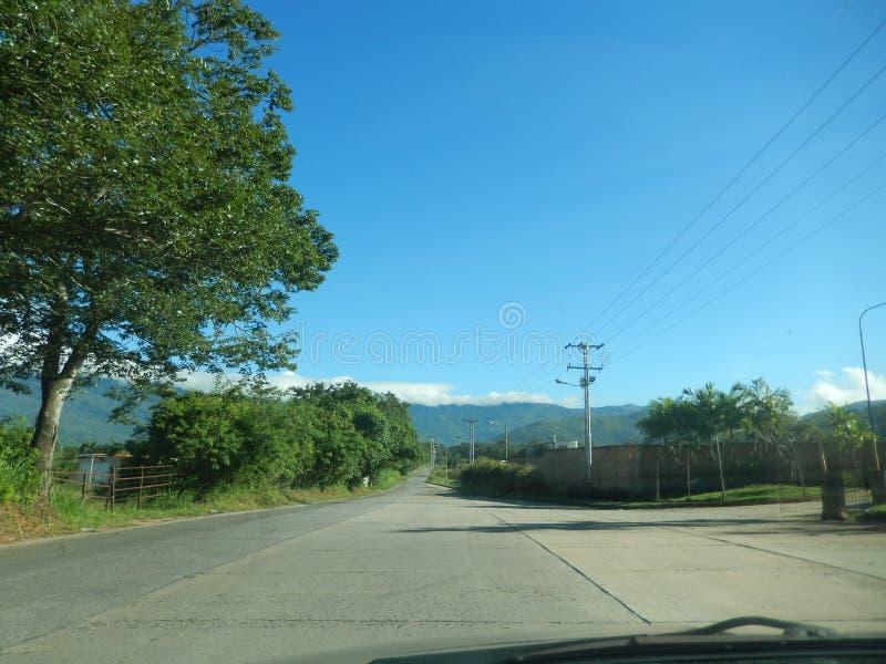 Stadt von Valencia Venezuela stockbilder