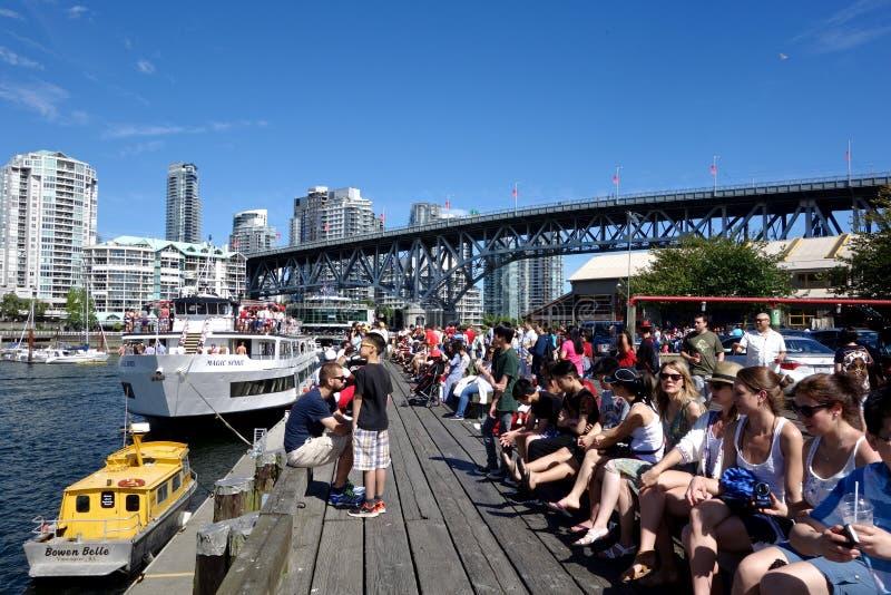 Stadt von Vancouver, Kanada lizenzfreies stockfoto