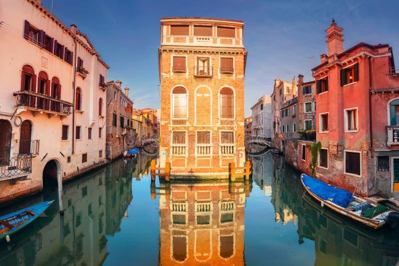 Stadt von Venedig, Italien lizenzfreie stockfotos