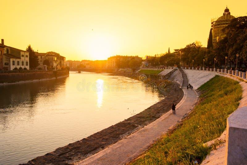 Stadt von Verona Italien lizenzfreies stockbild