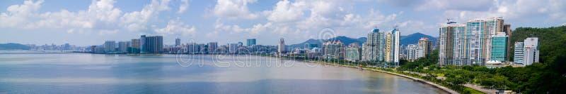 Stadt von Zhuhai, China stockbild
