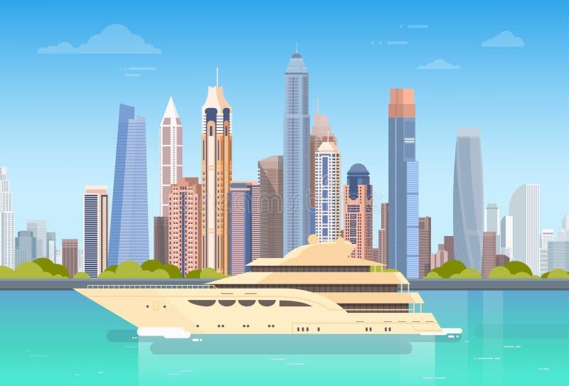 Download Stadt-Wolkenkratzer-Ansicht-Stadtbild-Hintergrund-Skyline Mit Kopien-Raum Vektor Abbildung - Illustration von landschaft, haus: 90225161