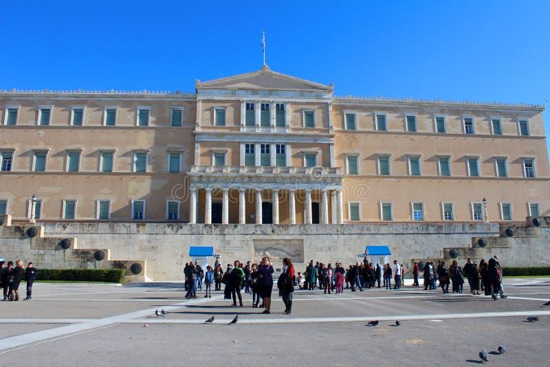 Stadtansicht von Athen, Griechenland lizenzfreies stockbild